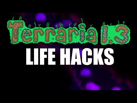 Terraria Life Hacks for 1.3 (1.3 Update) Tips and Tricks