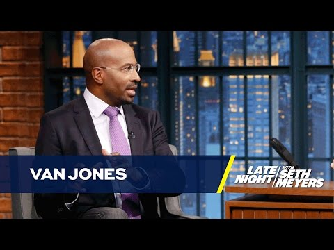 Van Jones Explains Why Some Obama Voters Turned to Trump