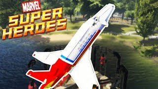 Lego Marvel Super Heroes | BLASTING OFF INTO SPACE! | Lego Marvel Super Heroes Gameplay Part 12