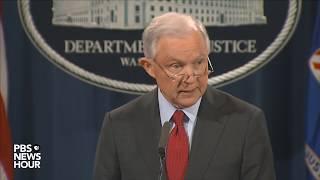 WATCH: AG Sessions discusses violent crime