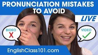 English Pronunciation Mistakes to Avoid | Improve English Speaking