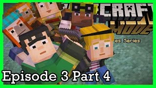 Minecraft Story Mode: Lets Play: Episode 3 Part 4| KITTIESMAMA GAMING