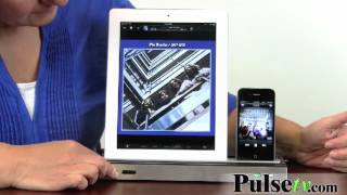 Dual Docking Station & Speaker for iPhone and iPad