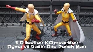 K.O.llection K.O.mparison Figma vs Dasin Model One Punch Man Saitama
