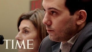 'Pharma Bro' Martin Shkreli Cries As He Is Sentenced To 7 Years In Prison For Fraud | TIME