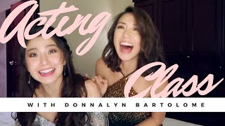 Acting Lessons with Donnalyn Bartolome | Kryz Uy (TAGLISH)