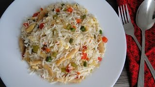 Chinese Chicken Fried Rice - Restaurant Style | চাইনিজ চিকেন ফ্রাইড রাইস