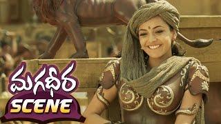 Ram Charan Teaching Archery To Kajal Aggarwal || Magadheera Telugu Movie || Dev Gill