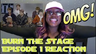 I'd do it all | BTS: Burn the Stage Ep1 ♡♡ REACTION
