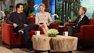 Charlize Theron and Seth MacFarlane