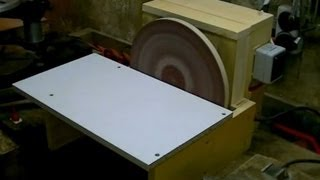 Building a Disc Sander (cheap and simple)