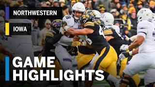Highlights: Northwestern Wildcats vs. Iowa Hawkeyes | Big Ten Football