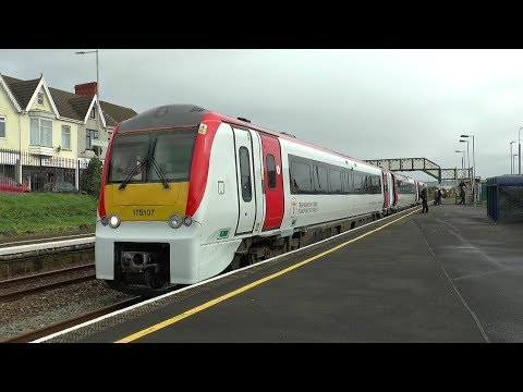 Xxx Mp4 175107 The First Class 175 In The Brand New Transport For Wales Livery 08 10 2018 3gp Sex