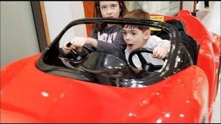 Power Wheels Kids Ride on Red Car-Alex TubeFun