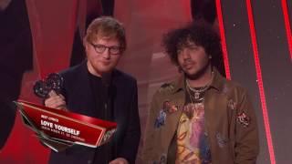 Ed Sheeran Acceptance Speech   iHeartRadio Music Awards 2017