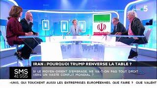 Iran : pourquoi Trump renverse la table ? - Les questions SMS #cdanslair 09.05.2018