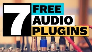 7 Free Plugins for Audio Producers