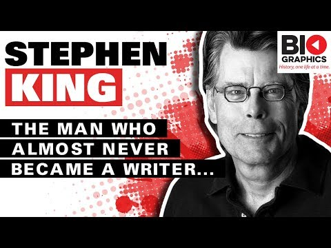 Xxx Mp4 Stephen King Biography The Man Who Almost Didn T Become A Writer 3gp Sex