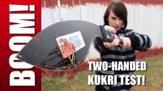 Two-Handed Kukri Machete MASSACRE! Zombie Go Boom!