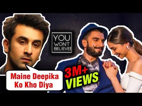 Xxx Mp4 Here39s How Ranbir Kapoor LOST Deepika Padukone To Ranveer Singh You Won39t Believe 3gp Sex