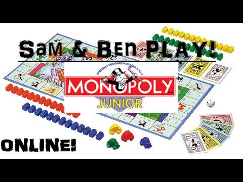 Sam & Ben Play! Monopoly Junior Online