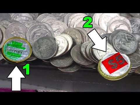 BIGGEST Coin Pusher Bonus Win Ever