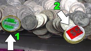 Coin Pusher - DOUBLE Bonus Coin WIN