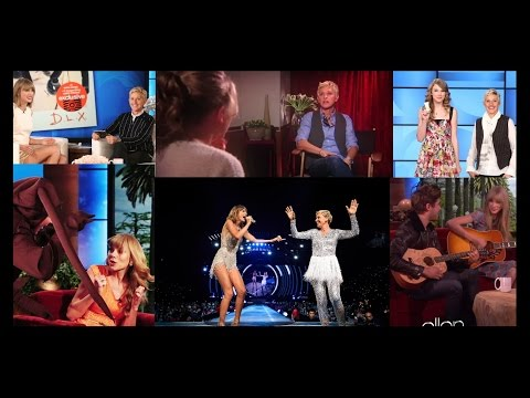 Taylor and Ellen The most memorable moments 2008 2015