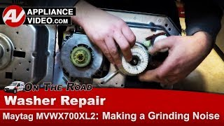 Maytag, Whirlpool & Roper Washer -  Grinding noise - Diagnostic & Repair