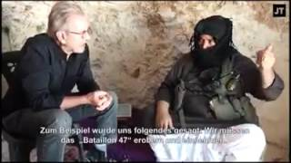 Al-Nusra commander speaks about foreign support in Syria