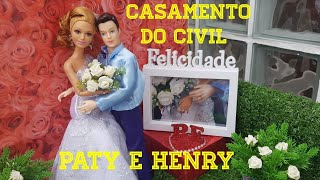 Novela da Barbie - Episódio 13 - Casamento do civil - Paty e Henry