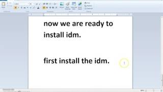 How to install latest IDM 6 25 build 3 for lifetime without fake serial key problem   YouTube