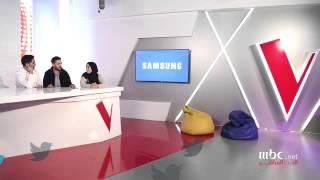 #MBCTheVoice -   مؤمن نور يستضيف ايميه صياح والمشتركين الاربعة النهائيين في البث المباشر الأخير