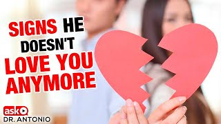 Signs That Your Relationship Is Over - He Doesn't Love You Anymore