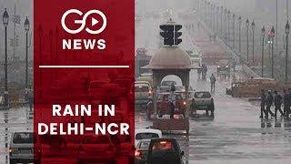 Rain Brings Down Mercury In Delhi