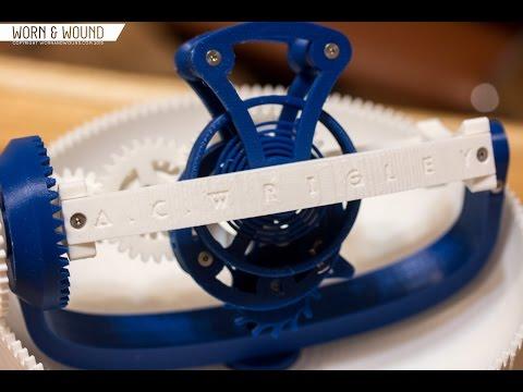 The Clockwerk 3D-Printed Triple-Axis Tourbillon by Adam Wrigley