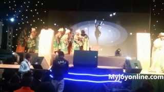 Traditional Bayelsa dance performance at the 2013 AMAAs