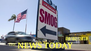 White House Proposes Weaker Auto Emissions Rules, Overriding California | News Today | 08/02/20...
