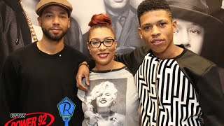 Empire Stars Jussie and Yazz interviewed by JADE from power 92