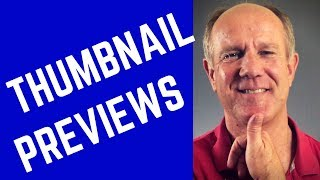YouTube Thumbnail Previews - Tutorial