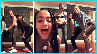 Malu Trevejo And Woahvicky Dancing On Live Instagram Stream