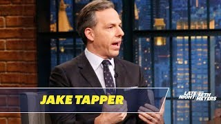 Jake Tapper Talks About His Stephen Miller Interview