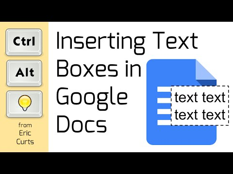 How to Add Text Boxes to Google Documents