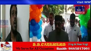 Majlis MLA Jafer Hussain Meraj and Yaser Arafath inaugurates King Chat Darbar and Tiffin Center