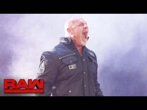 Goldberg emerges in WWE for the first time in 12 years: Raw, Oct. 17, 2016