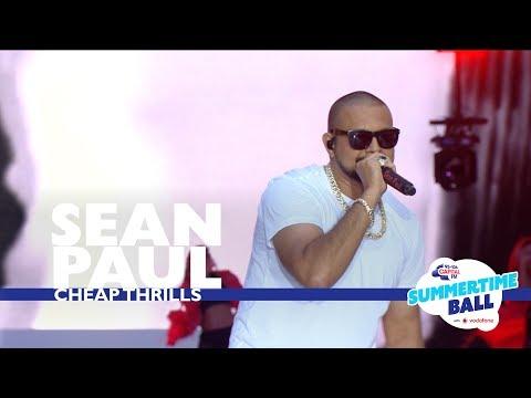 Sean Paul Cheap Thrills Live At Capital's Summertime Ball 2017