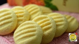 Custard Cookies  - By Vahchef @ vahrehvah.com