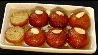 Gulab Jamun - Indian Dessert Recipe