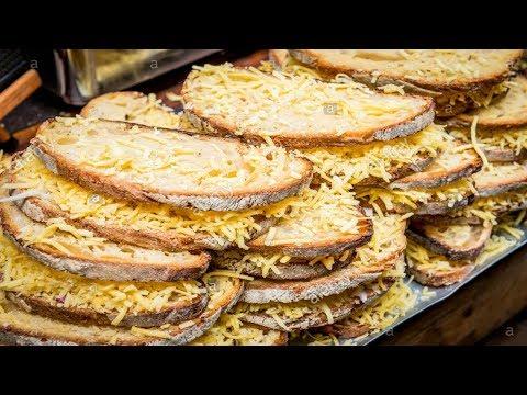 LONDON STREET FOOD BOROUGH MARKET BIG GRILLED CHEESE SANDWICH INTERNATIONAL STREET FOOD
