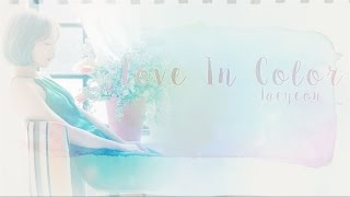 love in color taeyeon han rom eng lyrics